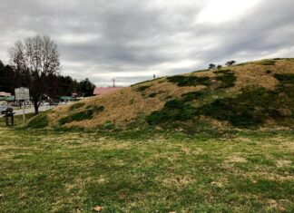 Nikwasi Mound - Franklin NC - BelleHearth.com